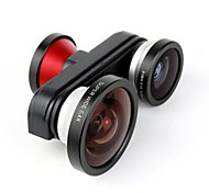 Aluminium Lentille Fish-Eye X10 et plus 140 Autre iPhone 5 iPhone 5s