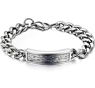 Fashion Men's   Stainless Steel  Bracelet (1 Pc)