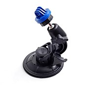Blue Universal Super Powerful Car Suction Cup Mount for GoPro Hero 3 / 2 / 1