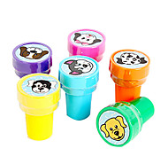 Cartoon Dog Pattern Toy Seal Set(6 PCS)