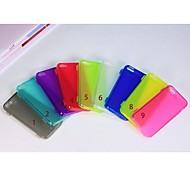 Transparent Touch Srceen TPU Case for iPhone5/5S