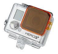 Orange GoPro HD Hero 3+ PC Under Sea Filter Cover