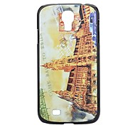 Building Painting Pattern Hard PC Cas  for Samsung Galaxy S4 I9500