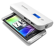batería externa del banco de potencia PINENG 10000mah para iphone4s / 5/5 s / ipad / samsungs3 / s4 / s5 / dispositivos móviles