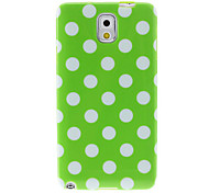 Spots Pattern Soft PC Back Case Cover for Samsung Galaxy Note3 N9000