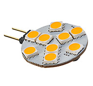 3W G4 / GU4(MR11) LED Spotlight MR11 9 SMD 5050 135-155 lm Warm White AC 12 V