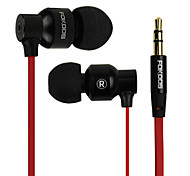 X3 Super Bass Stereo In-Ear Earphone Música para MP3/MP4, Ipod
