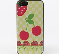 For iPhone 5 Case Pattern Case Back Cover Case Fruit Hard PC iPhone SE/5s/5
