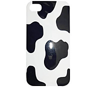 Simple Style Cow Grain Pattern Back Case for iPhone 5/5S
