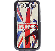 The Union Jack Pattern Aluminum&Plastic Hard Back Case Cover for Samsung Galaxy S3 I9300