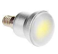 E14 5W 1 COB 280-320 LM Cool White LED Globe Bulbs AC 85-265 V