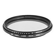 Rotatable ND Filter for Camera (55mm)