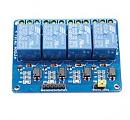 4-Channel 5V Optocoupler Isolation Relay Module w/ High Level Trigger