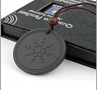 Lava Rock Quantum Pendant Scalar Energy Necklace Jewelry
