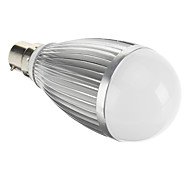 B22 7W COB 359 LM Warm White LED Globe Bulbs AC 85-265 V