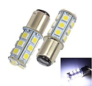 Merdia 1157 13 * 5050 SMD LED White Light Car Brake / Lenkungs Light (2 Stück)