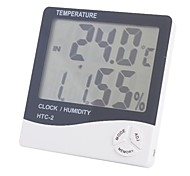 "4"" LCD Indoor/Outdoor Digital Thermometer/Hygrometer (1*AAA)"