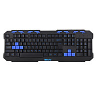 Wortley XX6 PS / 2 Teclado impermeable Mute Gaming