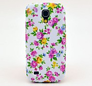 Colorful Roses Pattern Back Cover TPU Soft  Case for Samsung Galaxy S4 Mini I9190