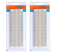 Large Size Solderless Breadboard - White (2PCS)