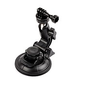 G-97 Car Glass Suction Cup + CNC Tripod Mount + Aluminum Screw for GoPro HERO 2 / 3 /3+