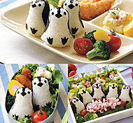 DIY Penguin Shape Rice Roll Mould