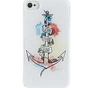 Choose Your Life Pattern Epoxy Hard Case for iPhone 4/4S