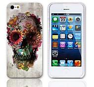 Cranio e modello di farfalla Hard Case con 3 Paia protezioni per iPhone 5/5S