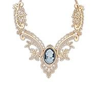Vintage Style (Цветы) покрытием сплава Смола Вырез Сеть себе ожерелье (больше цветов) (1 шт)