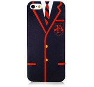 Business Suit Pattern Back Case for iPhone 5/5S
