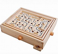 Baby  Educational Toys Wooden Maze Game
