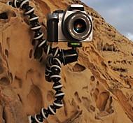 Tamanho Grande flexível Juntas Octopus tripé de câmera (Tamanho 6cmx6cmx25cm)