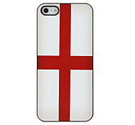 Top 32 World Cup Series Flag of England Pattern Hard Case for iPhone 5/5S