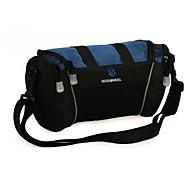Cycling Polyester Dark Blue Waterproof Wearproof Large Space Bicycle Handlebar Bag Bike Bag
