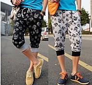 Dos homens de impressão moda Calça Casual