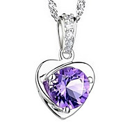 Silver Pendant Necklaces Silver Plated Party / Daily / Casual Jewelry