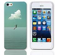 Voglio volare caso duro di disegno con 3 Paia protezioni per iPhone 5/5S