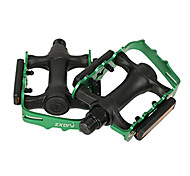 FJQXZ Aluminum+Nylon Green Pedal With Anti-slip Nails
