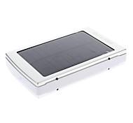 30000mAh múltiples salidas Solar externa de la batería de plata para dispositivos móviles