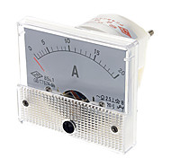 85L1 Analogue 20A Current Panel Meter Ammeter (White)
