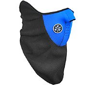 Outdoor Cycling Blue Fleece Thermal Mask