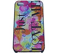 Just Love Me Design-Hard Cases für iPhone 4/4S