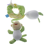 Cute Pullover Toy with Monkey Doll for Pets Dogs