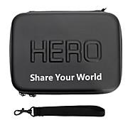 Accesorios GoPro Fundas Para Gopro Hero 2 / Gopro Hero 3 / Gopro Hero 3+ Cuero PU negro