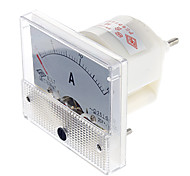 85L1 Analog 15A Current Panel Meter Ammeter (White)