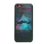 Triangle Beard Drawing Pattern Hard Case for iPhone 5C
