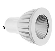 7W GU10 LED Spotlight 1 COB 560 lm Cool White AC 85-265 V