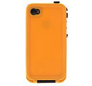 4-1 Caso Resistenza impermeabile antiurto goccia per iPhone 4/4S