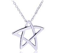 Lureme®Star Pendant Necklace\ \ \ \