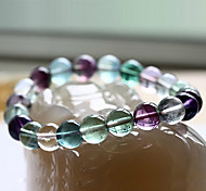 Salute Cura Vintage multicolore Naturel cristallo ologramma Bracelet (1 Pc)
